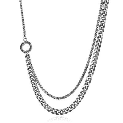 Pánský ocelový náhrdelník Michael - chirugická ocel