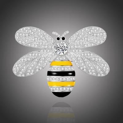 Brož Swarovski Elements Josette - včela