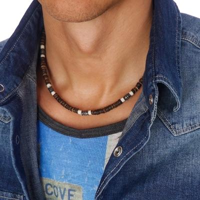 Pánský korálkový náhrdelník Thomas