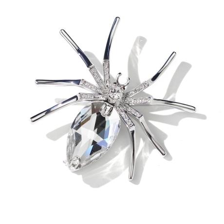 Brož Swarovski Elements Araignée - pavouček