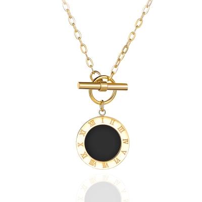 Ocelový náhrdelník Gloria Gold - chirurgická ocel