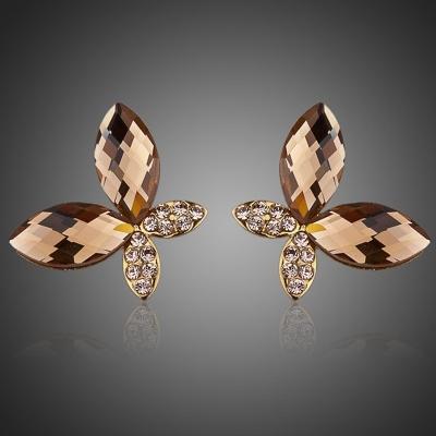 Náušnice Swarovski Elements Arboria - motýl