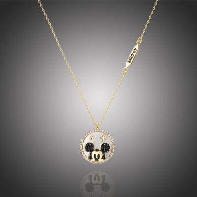 Exkluzivní náhrdelník Swarovski Elements Disney Micky Mouse 2
