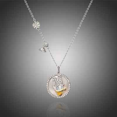 Exkluzivní náhrdelník Swarovski Elements Disney Daisy