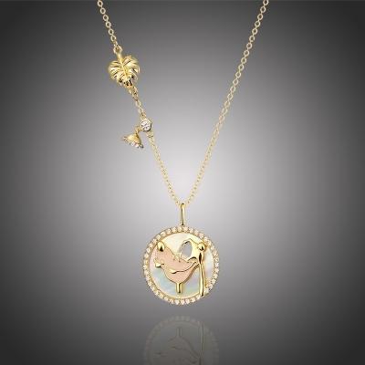 Exkluzivní náhrdelník Swarovski Elements Disney pes Pluto 2