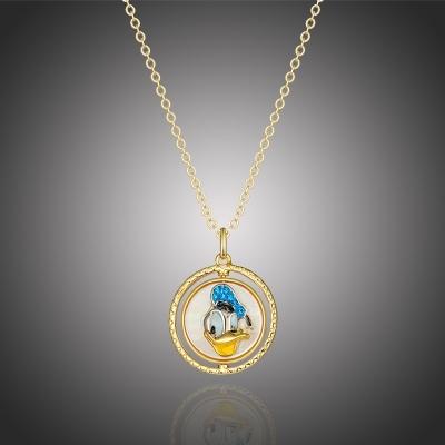 Exkluzivní náhrdelník Swarovski Elements Disney Kačer Donald 2