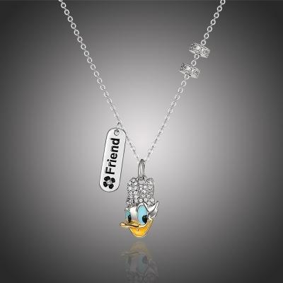 Exkluzivní náhrdelník Swarovski Elements Disney Daisy 2