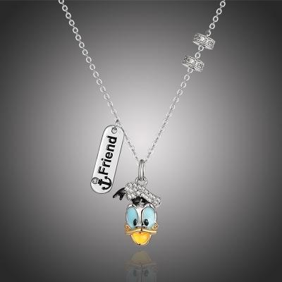 Exkluzivní náhrdelník Swarovski Elements Disney Kačer Donald 3