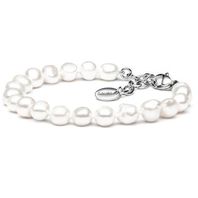 Elegantní perlový náramek Olimpio z pravých řičních perel