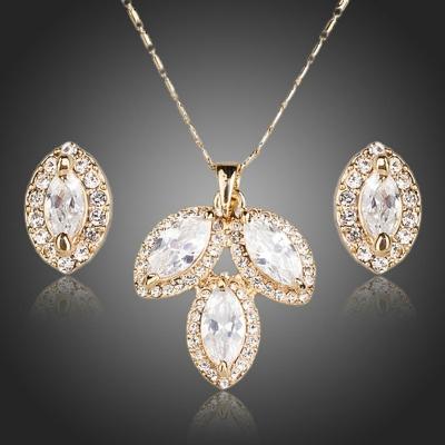 Souprava náhrdelníku a náušnic Swarovski Elements  Alvanesi