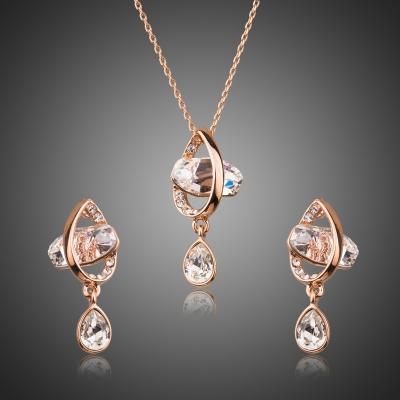 Souprava náhrdelníku a náušnic Swarovski Elements Serene