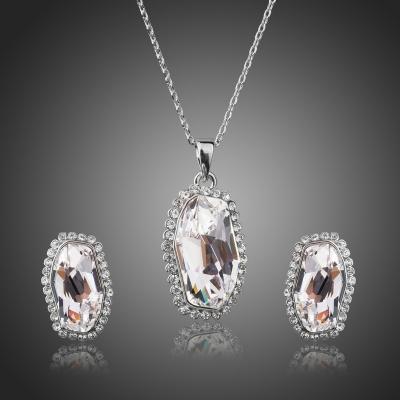 Souprava náhrdelníku a náušnic Swarovski Elements Fabia
