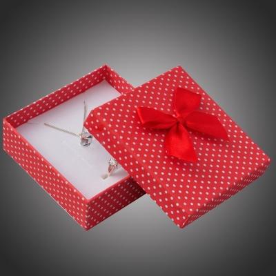 Puntíkatá dárková krabička na soupravu šperků Arco 7