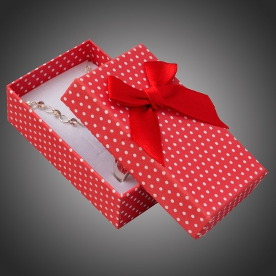 Puntíkatá dárková krabička na šperky Arco 11