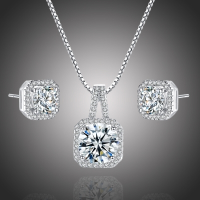 Souprava náhrdelníku a náušnic Swarovski Elements Ruzzieri