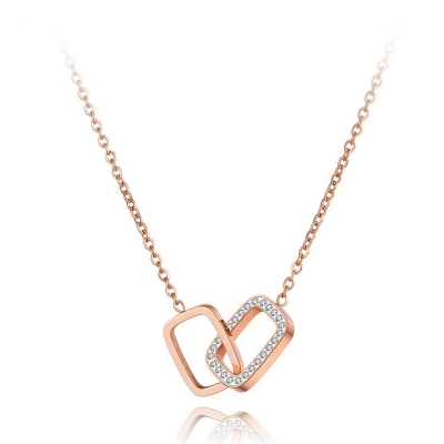 Ocelový náhrdelník Nicola - chirurgická ocel