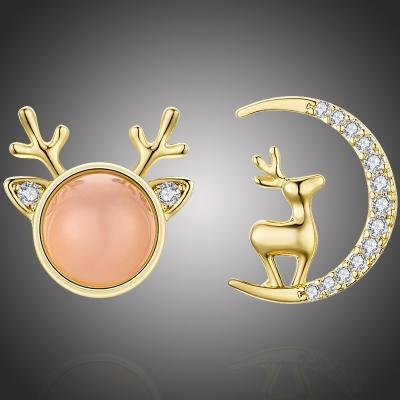 Vánoční náušnice Rudolph