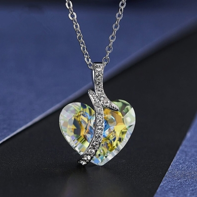 Exkluzivní náhrdelník Swarovski Elements Sophie - srdce