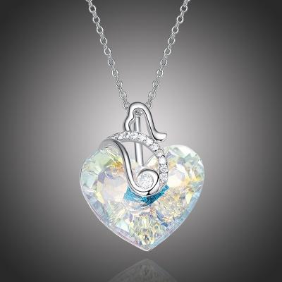 Exkluzivní náhrdelník Swarovski Elements Courtney - srdce