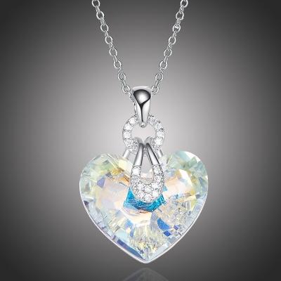Exkluzivní náhrdelník Swarovski Elements Katherine - srdce