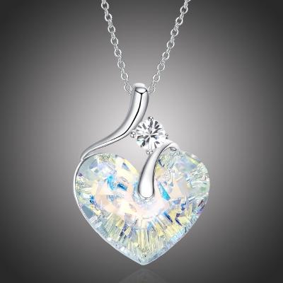 Exkluzivní náhrdelník Swarovski Elements Lily - srdce