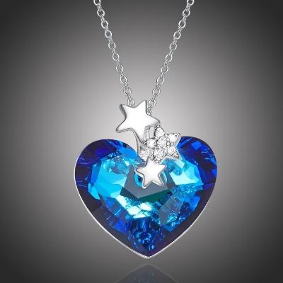 Exkluzivní náhrdelník Swarovski Elements Niamh - srdce