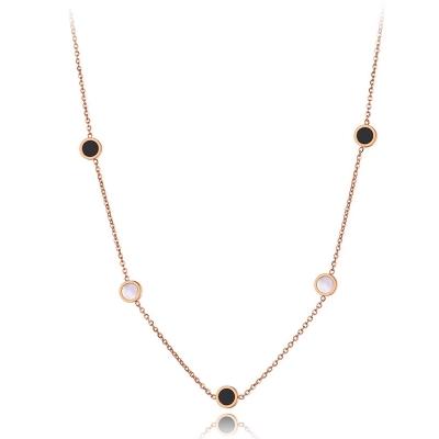 Ocelový náhrdelník Lugia Gold - chirurgická ocel