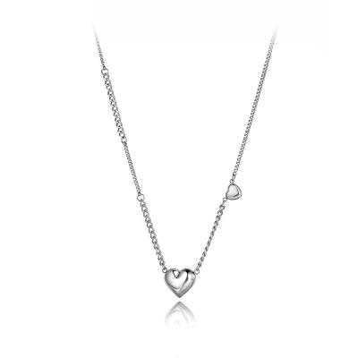 Ocelový náhrdelník Irene - chirurgická ocel, srdce