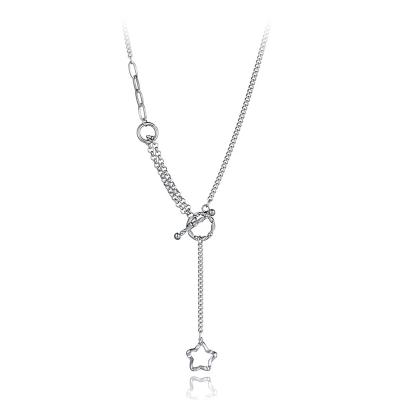 Ocelový náhrdelník Lidia - chirurgická ocel