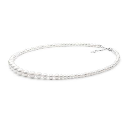 Perlový náhrdelník Bianca - sladkovodní perla, stříbro 925/1000