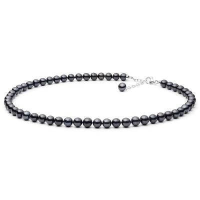Perlový náhrdelník Sebastiana - sladkovodní perla, stříbro 925/1000
