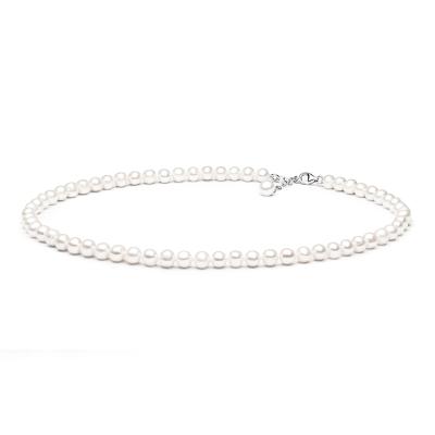 Perlový náhrdelník Stacey - sladkovodní perla, stříbro 925/1000