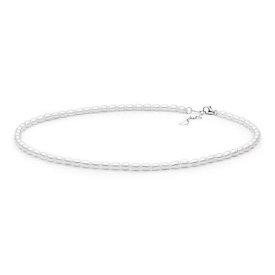 Perlový náhrdelník Bethan - sladkovodní perla, stříbro 925/1000