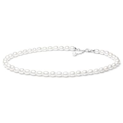 Perlový náhrdelník Millie - sladkovodní perla, stříbro 925/1000