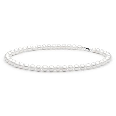 Perlový náhrdelník Erin - sladkovodní perla, stříbro 925/1000