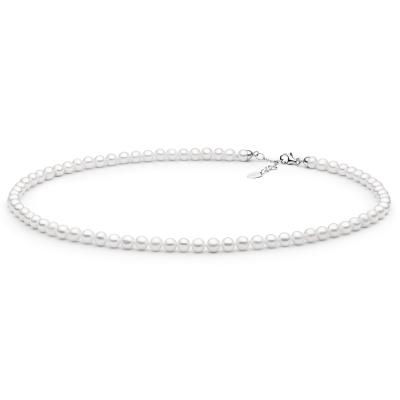 Perlový náhrdelník Charlotte - sladkovodní perla, stříbro 925/1000