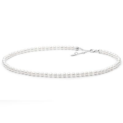 Perlový náhrdelník Luisa - sladkovodní perla, stříbro 925/1000