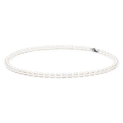 Perlový náhrdelník Carina - sladkovodní perla, stříbro 925/1000