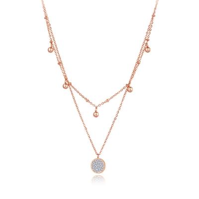Ocelový náhrdelník Kaye Gold - chirurgická ocel