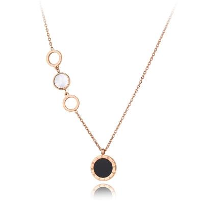 Ocelový náhrdelník Niamh Gold - chirurgická ocel