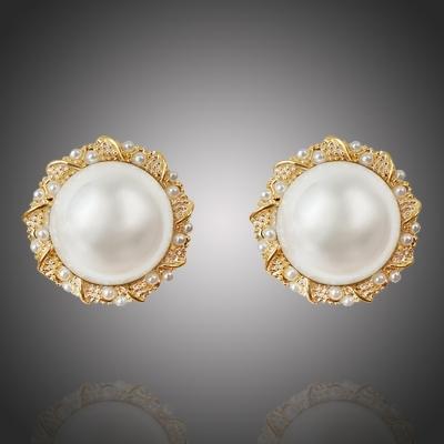 Náušnice s perlou Amalia