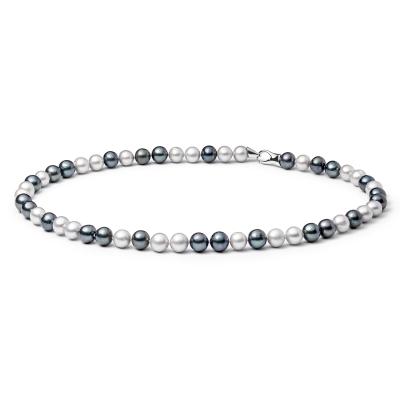 Perlový náhrdelník Marco - sladkovodní perla, stříbro 925/1000