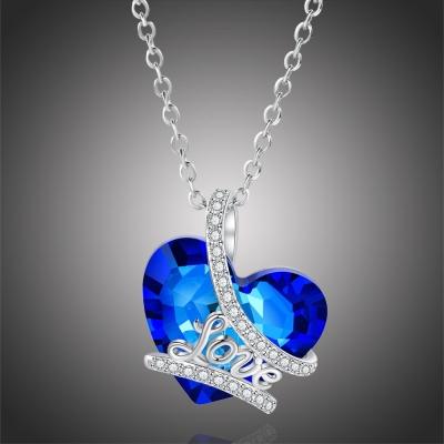 Exkluzivní náhrdelník Swarovski Elements Isabell - srdce