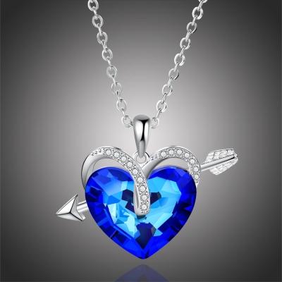 Náhrdelník Swarovski Elements Leanne - srdce