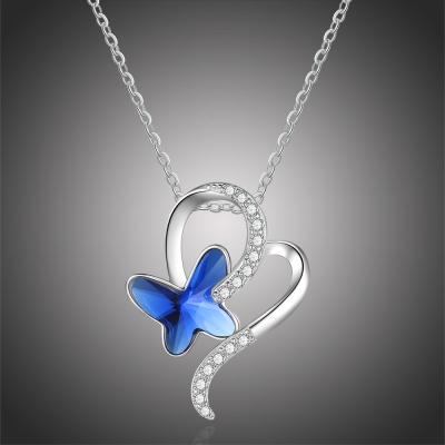 Náhrdelník Swarovski Elements Miazza - motýl