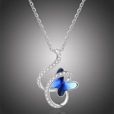 Náhrdelník Swarovski Elements Luicca - motýl