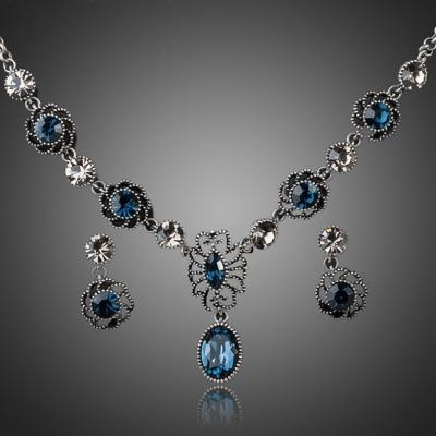 Vintage souprava šperků Swarovski Elements Naomi