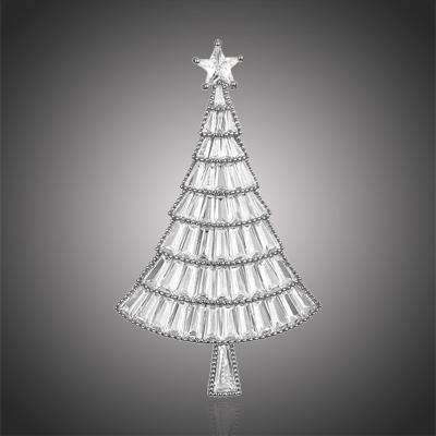 Vánoční brož Swarovski Elements Emma - vánoční stromeček