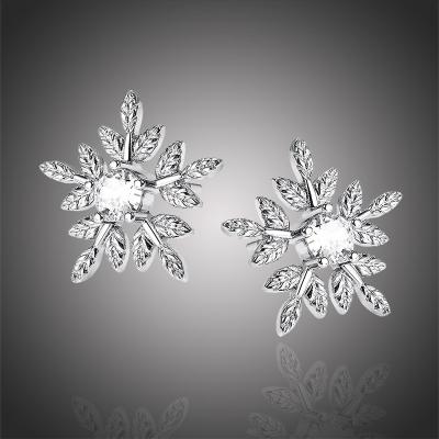 Náušnice Swarovski Elements Winter Romance