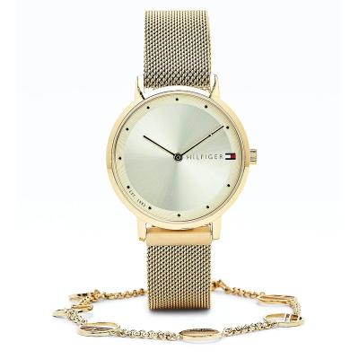 Dárkový set - dámské hodinky a ocelový náramek TOMMY HILFIGER